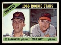 Orioles Rookie Stars (Ed Barnowski, Eddie Watt) [GOOD]