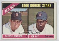 1966 Rookie Stars - Darrell Brandon, Joe Foy