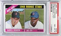 1966 Rookie Stars - Darrell Brandon, Joe Foy [PSA8NM‑MT]