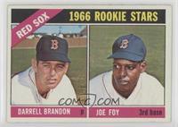 1966 Rookie Stars - Darrell Brandon, Joe Foy [NoneGoodtoVG…
