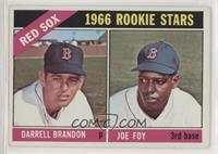 1966 Rookie Stars - Darrell Brandon, Joe Foy