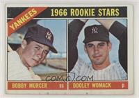 1966 Rookie Stars - Bobby Murcer, Dooley Womack [Poor to Fair]