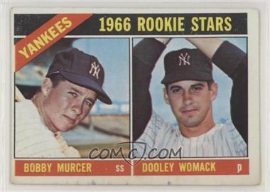1966 Topps - [Base] #469 - 1966 Rookie Stars - Bobby Murcer, Dooley Womack [PoortoFair]
