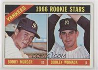 1966 Rookie Stars - Bobby Murcer, Dooley Womack
