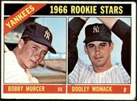 1966 Rookie Stars - Bobby Murcer, Dooley Womack [FAIR]