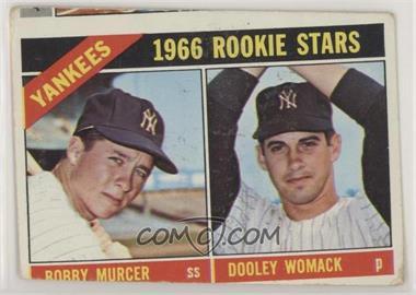 1966 Topps - [Base] #469 - Bobby Murcer, Dooley Womack [PoortoFair]
