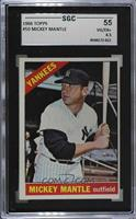 Mickey Mantle [SGC 55 VG/EX+ 4.5]