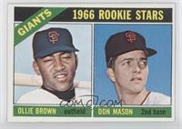 High # - Ollie Brown, Don Mason