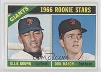 Ollie Brown, Don Mason