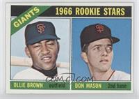 Ollie Brown, Don Mason