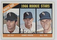 White Sox Rookies (Lee Elia, Dennis Higgins, Bill Voss)