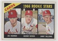 High # - George Kernek, Jimy Williams, Joe Hoerner