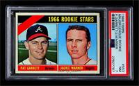 Rookie Stars (Pat Garrett, Jackie Warner) [PSA7NM]