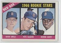 Red Sox Rookies (Guido Grilli, Pete Magrini, George Scott) [GoodtoV…