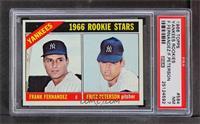 Yankees Rookies (Frank Fernandez, Fritz Peterson) [PSA7]