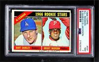 1966 Rookie Stars - Bart Shirley, Grant Jackson [PSA7NM]