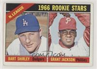 N. League Rookies (Bart Shirley, Grant Jackson) [Good to VG‑EX]