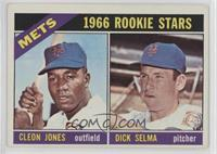1966 Rookie Stars - Cleon Jones, Dick Selma [Good to VG‑EX]