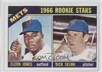 1966 Rookie Stars - Cleon Jones, Dick Selma