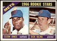 1966 Rookie Stars - Cleon Jones, Dick Selma [GOOD]
