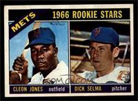 1966 Rookie Stars - Cleon Jones, Dick Selma [EXMT]