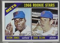 1966 Rookie Stars - Cleon Jones, Dick Selma [Poor]