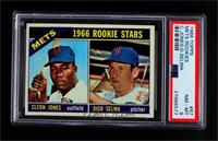 1966 Rookie Stars - Cleon Jones, Dick Selma [PSA 8 NM‑MT]