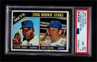 1966 Rookie Stars - Cleon Jones, Dick Selma [PSA8NM‑MT]