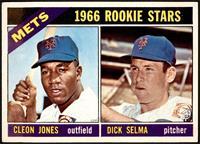 1966 Rookie Stars - Cleon Jones, Dick Selma [VG+]