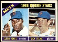 1966 Rookie Stars - Cleon Jones, Dick Selma [VGEX]