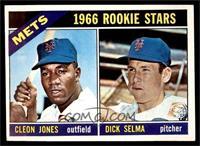 1966 Rookie Stars - Cleon Jones, Dick Selma [EX]