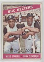 Buc Belters (Willie Stargell, Donn Clendenon) [Poor]