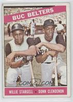 Buc Belters (Willie Stargell, Donn Clendenon) [Noted]
