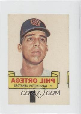 1966 Topps - Rub-Offs #PHOR - Phil Ortega