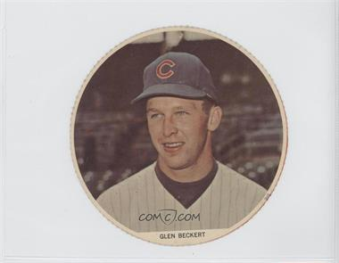 1967 Pro's Pizza Color Discs - [Base] #N/A - Glen Beckert