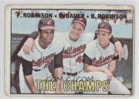 The Champs (Frank Robinson, Hank Bauer, Brooks Robinson) [NonePoort…
