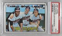 The Champs (Frank Robinson, Hank Bauer, Brooks Robinson) [BGS9.5GEM…
