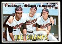 The Champs (Frank Robinson, Hank Bauer, Brooks Robinson) [VGEX]