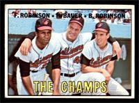 The Champs (Frank Robinson, Hank Bauer, Brooks Robinson) [VG]