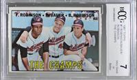 The Champs (Frank Robinson, Hank Bauer, Brooks Robinson) [BCCGVeryG…