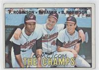 The Champs (Frank Robinson, Hank Bauer, Brooks Robinson) [PoortoFai…