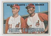 Tribe Thumpers (Rocky Colavito, Leon Wagner) [Poor]