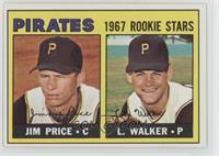 Pirates 1967 Rookie Stars (Jim Price, Luke Walker)