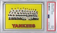 New York Yankees Team [PSA9MINT]