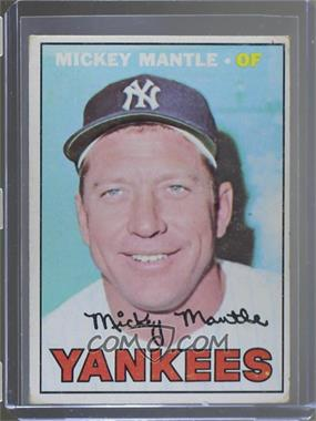 1967 Topps - [Base] #150 - Mickey Mantle [Poor to Fair]
