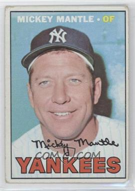 1967 Topps - [Base] #150 - Mickey Mantle