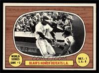 World Series Game 3: Blair's Homer Defeats L.A. [NM]