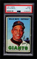 Willie Mays [PSA 4 VG‑EX]