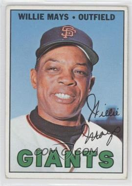 1967 Topps - [Base] #200 - Willie Mays [Good to VG‑EX]