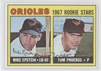 1967 Rookie Stars - Mike Epstein, Tom Phoebus